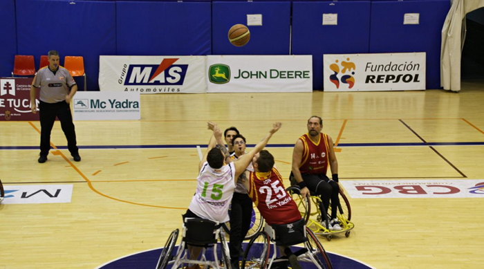 España tiene ya la mejor liga europea de baloncesto en silla de ruedas