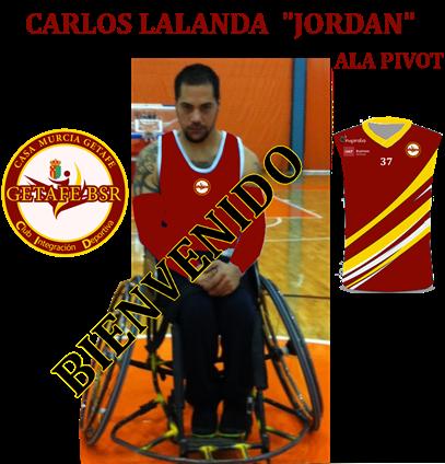 Carlos Lalanda, nueva incorporación de Getafe BSR.